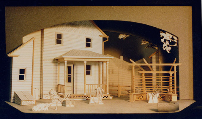 All my sons 1 2 scale white model sceno pinterest for Theatre model