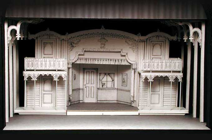 Showboat for Theatre model